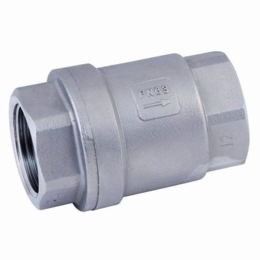 Stainless Steel Spring Check Valve