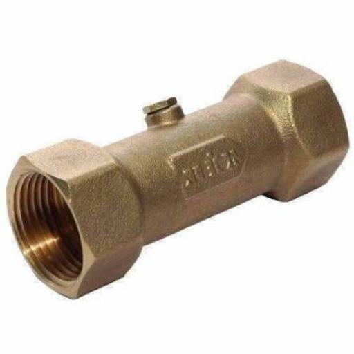DZR Brass Double Check Valve WRAS Approved