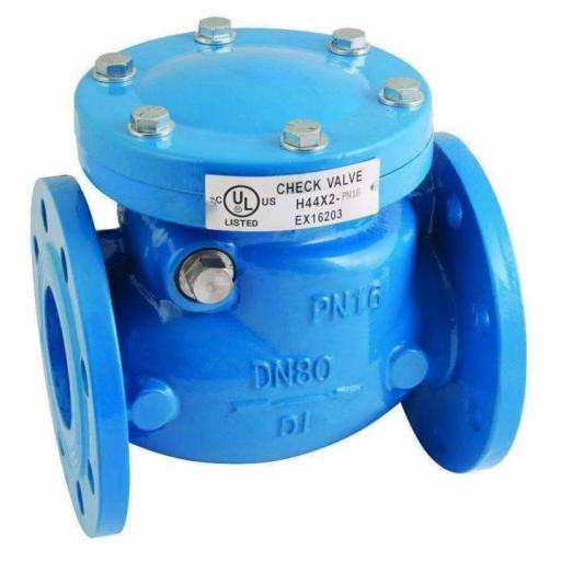 Cast Iron Swing Check Valve WRAS Approved Soft Seat
