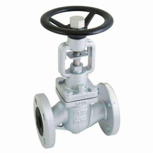Globe Valve PN25/16 Flanged Ductile Iron Bellow Sealed - Steam 10 bar