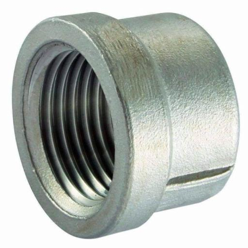 150lb Stainless Steel Round Cap Female