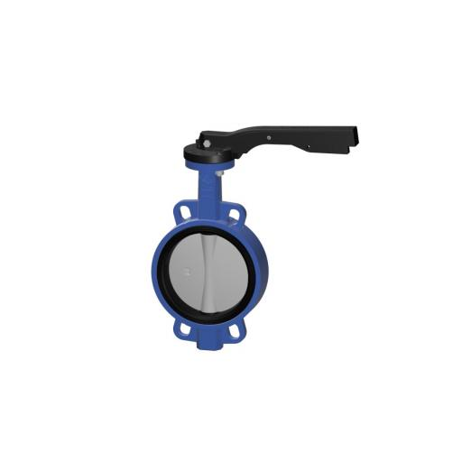 Uniwat® Wafer Pattern Butterfly Valve WRAS Approved Lever