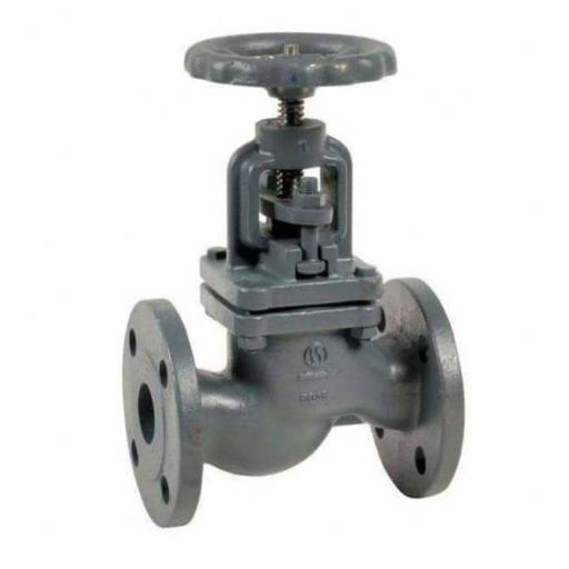Globe Valve PN16 Flanged Cast Iron - Water and Heating