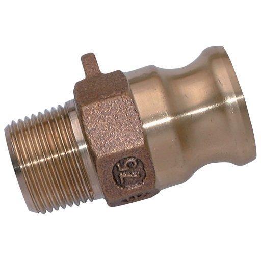 Camlock Part F BSPT Male Plug