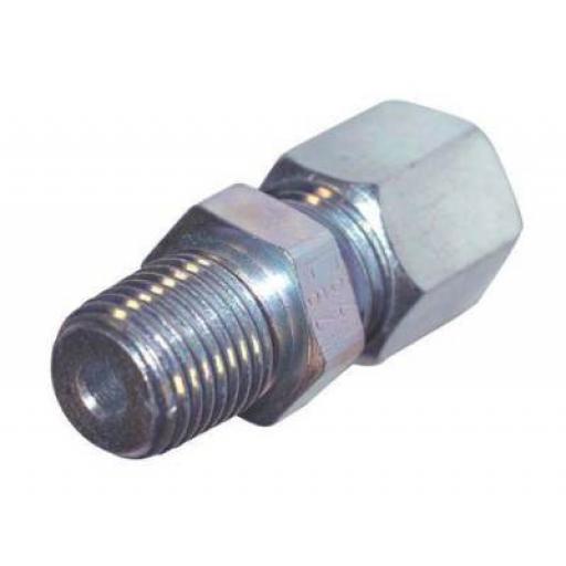 Parkair Light (L) Hydraulic Compression Male Stud Coupling NPT