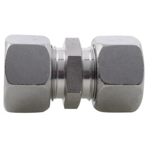 SS DIN2535 Compression Straight Coupling Heavy Series