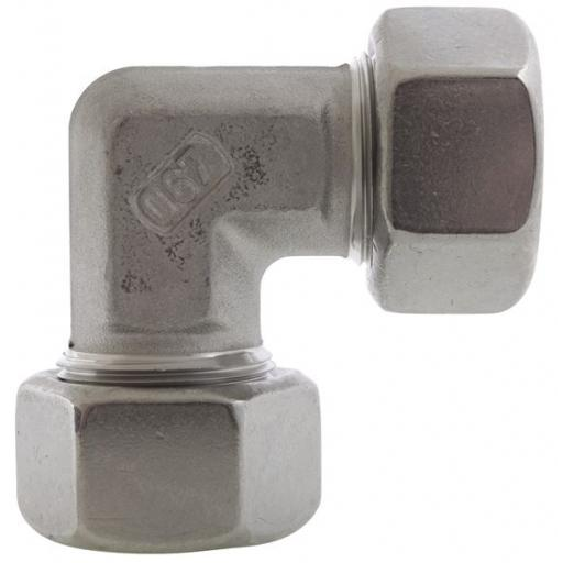 SS DIN2535 Compression Elbow Light Series