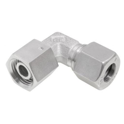 SS DIN2535 Compression Adjustable Elbow Light Series