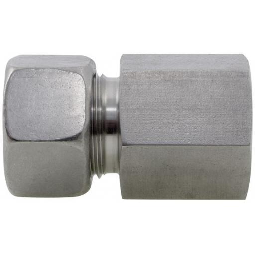 SS DIN2535 Compression Female Stud Coupling Heavy Series